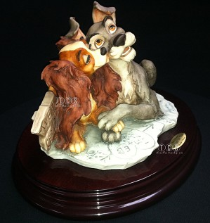 Giuseppe Armani-Lady And The Tramp True Love 1999 Disneyana Convention 1258c