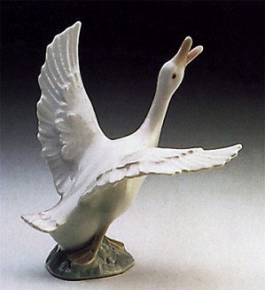 Lladro-Duck Running 1974-98
