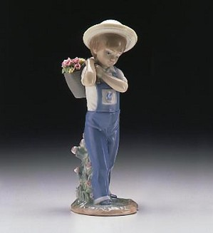 Lladro-Flower Harvest 1974-98