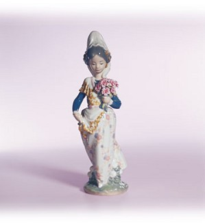 Retired Lladro-Valencian Lady