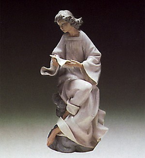 Lladro-Angel With Score 1976-85