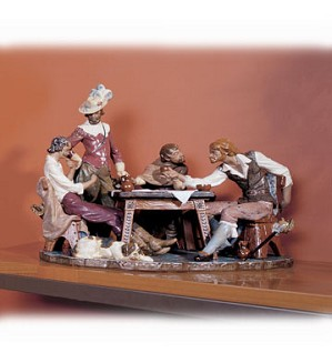 Lladro-Playing Cards (numbered Series) 1976-C