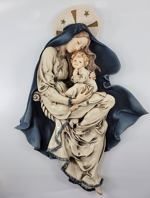 Giuseppe Armani-Madonna With Child Wall Plaque