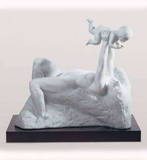 Lladro-The Gift Of Life White le1000 2002-13