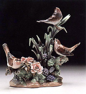 Lladro-Three Birds 1978-85