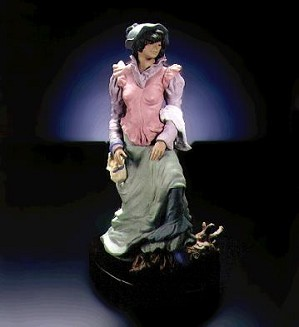 Lladro-Pensive Journey 1997-00