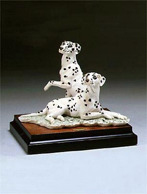 Giuseppe Armani-Pair Of Dalmation