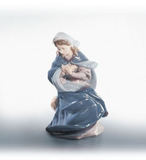 Lladro-Virgin Mary