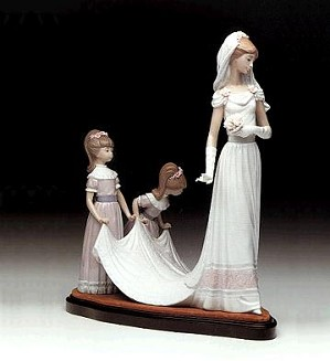 Lladro-Here Comes The Bride 1983-97