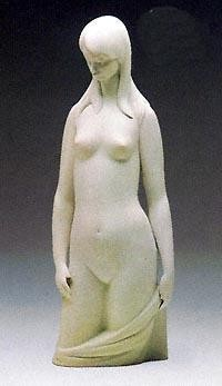 Lladro-Torso in White 1983-85