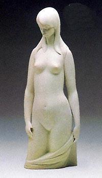 Lladro-Torso in White 1983-85