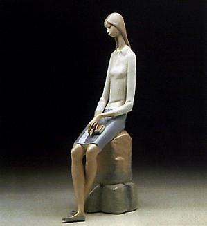 Lladro-Girl Student 1969-78