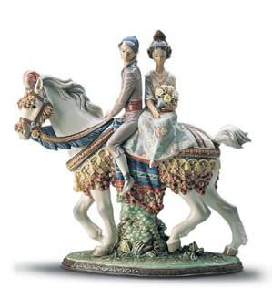Lladro-Valencian Couple Le3000 1985-2001
