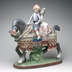 Lladro-Valencian Children