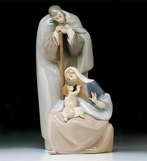 Lladro-Blessed Family 1986-98