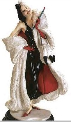 Giuseppe Armani-Cruella Devil Disney Convention 2001 Hand Signed