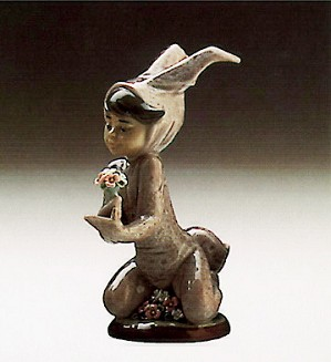 Lladro-Boy And His Bunny 1986-91