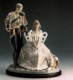 Lladro-Flower For My Lady