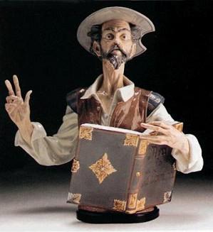 Lladro-Listen To Don Quixote 1987-95