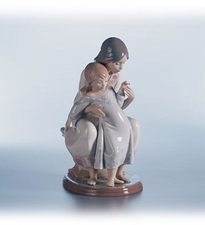 Retired Lladro-Tenderness
