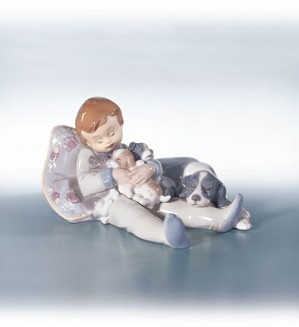 Retired Lladro-Sweet Dreams