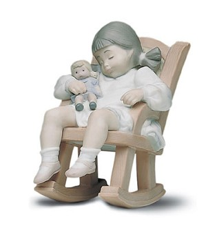 Retired Lladro-Naptime 1987-03