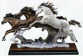 Giuseppe Armani-Born Free 3 Horses