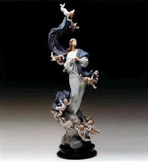 Lladro-Blessed Lady Le1000 1988-91