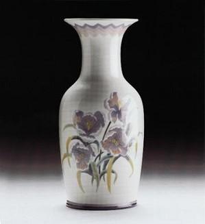 Lladro-Vase Pansy 1988-99