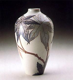 Lladro-Vase Ricinus Palm 1988-93