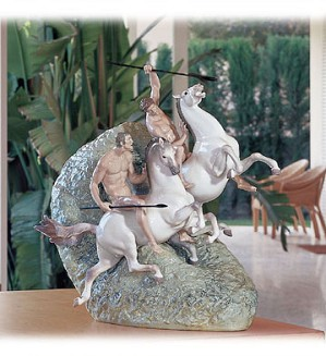 Lladro-Mounted Warriors (500)
