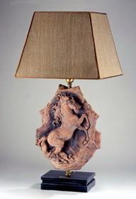 Giuseppe Armani-Leonardo Horse Lamp
