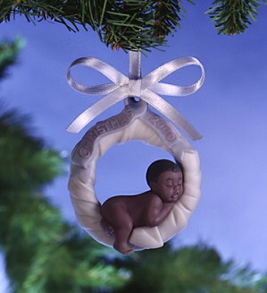 Lladro-Baby's First Christmas 2000 Ornament