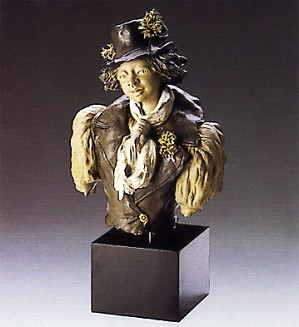 Lladro-Goyescas Boy At Fair 1988-93