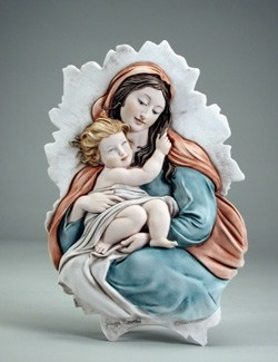 Giuseppe Armani-Madonna And Child Plaque