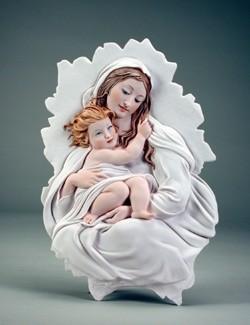 Giuseppe Armani-Madonna And Child Plaque