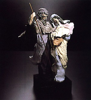 Lladro-Goyescas Nativity 1990-96