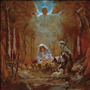 Brian Jekel-The Nativity Unframed Canvas (stretched)
