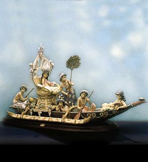 Lladro-HawaIIan Ceremony Le1000 1992-2002
