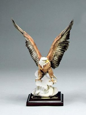 Giuseppe Armani-Eagle On Snow