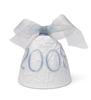 Lladro-Christmas Bell 2008 Ornament
