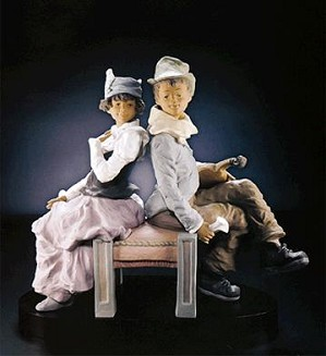 Lladro-Goyescas Back To Back Le350 1993-2000
