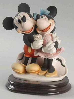 Giuseppe Armani-Mickey & Minnie - Ltd. Ed. 2003