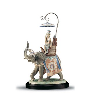 Lladro-Indian Princess Le3000 1994-2001