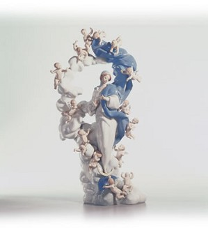 Lladro-Immaculate Virgin Le2000 1995-C