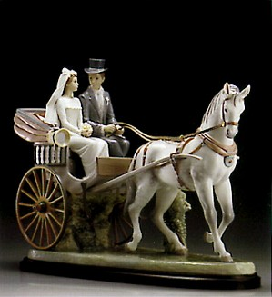 Lladro-Love & Marriage Le1500 1995-2000