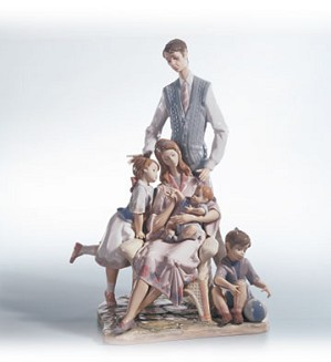 Lladro-Portrait Of A Family Le2500 1995-C