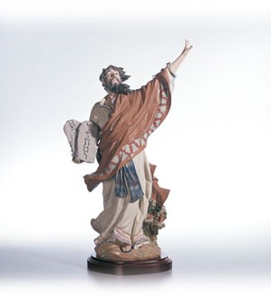 Lladro-Moses And The Ten Commandments Le1200 1996