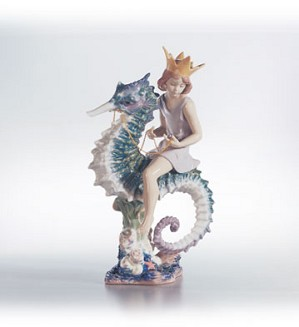 Lladro-Prince Of The Sea Le 2500