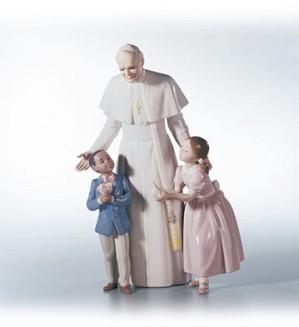 Lladro-Pope John Paul II Le2500 1998-2003